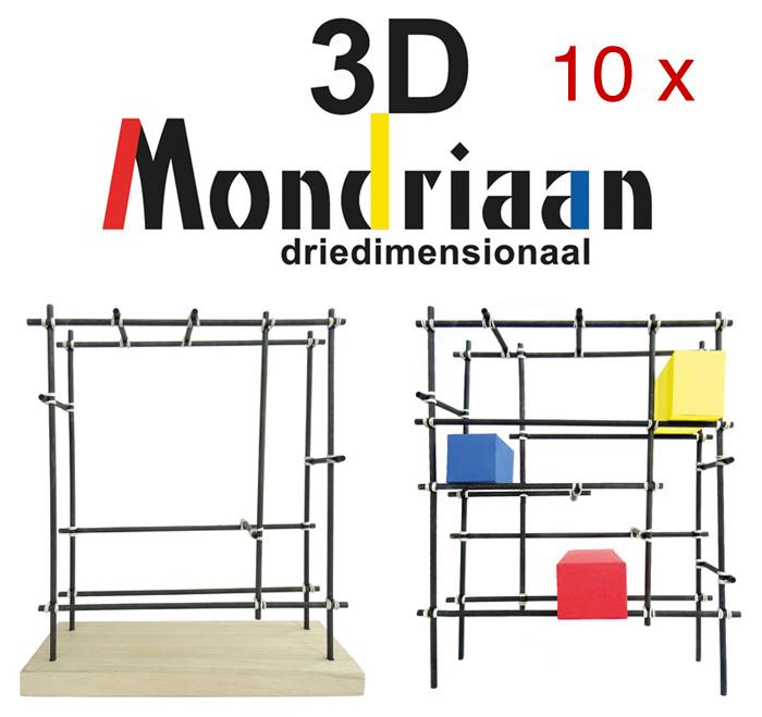 10x Mondriaan-3D