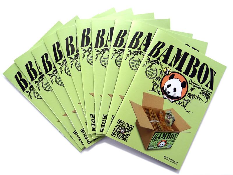 10x Bambox instructieboekje